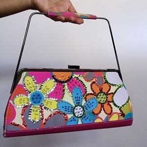 "Floral Clutch bag by ""Far East"""